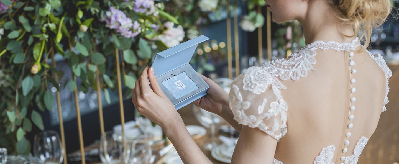 Свадебный сертификат «Дом Фарфора» — лучший подарок молодоженам!